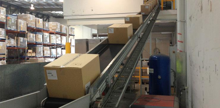 Belt Conveyors - Decline