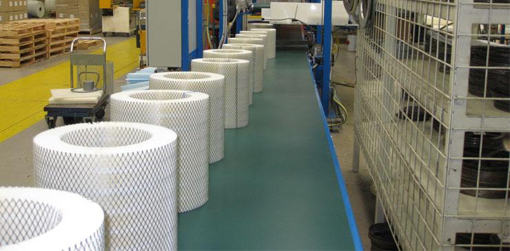 Belt Conveyors - Heavy duty