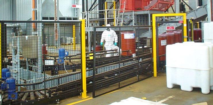 Conveyor Systems - hazardous substances