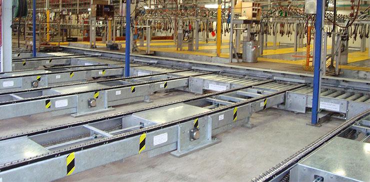 Conveyor Systems - heavy duty