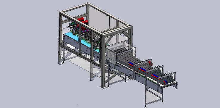 Lane Diverter Conveyor