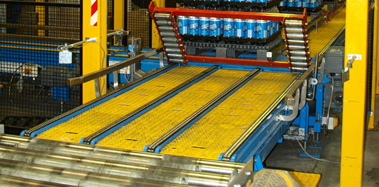 Chain Conveyor Roller Conveyor - Pallets