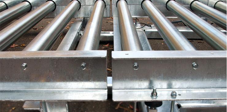 Roller Conveyor - Pallets