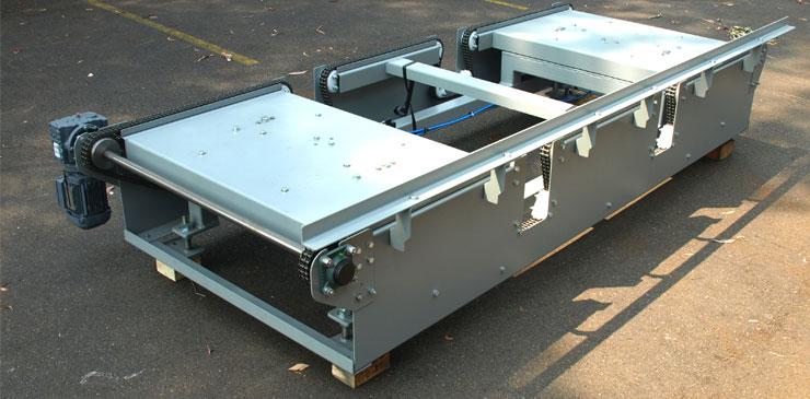 Pallet Conveyors Chain Conveyor Pallet Handling