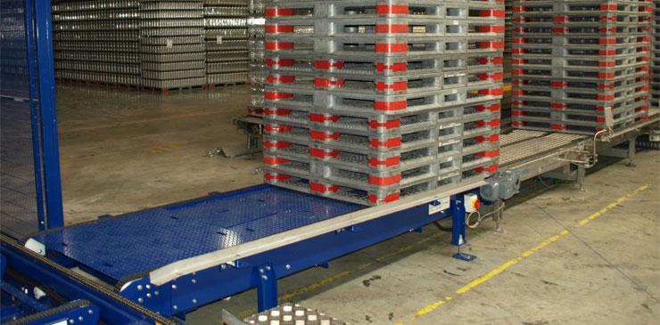 Chain Conveyor - Pallets