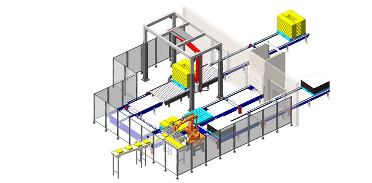 Robotic Palletiser Systems