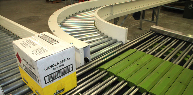 Roller Conveyors - driven