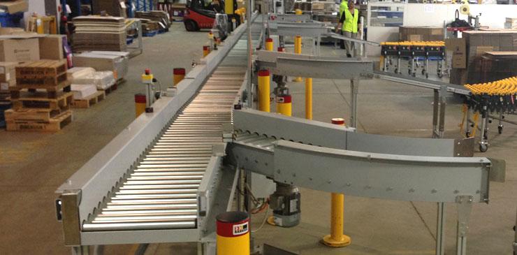 Roller Conveyors | Powered Roller Conveyor | AustralisEng
