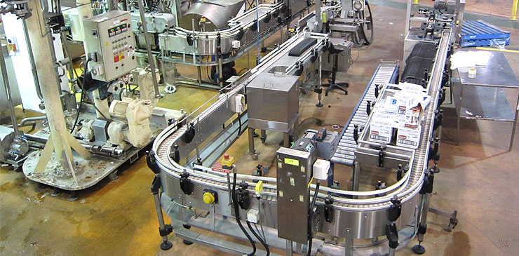 Slat Conveyor System
