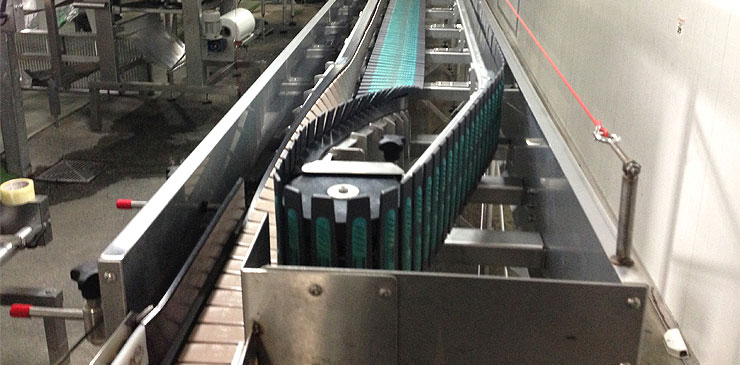 Slat Conveyors - Laydown