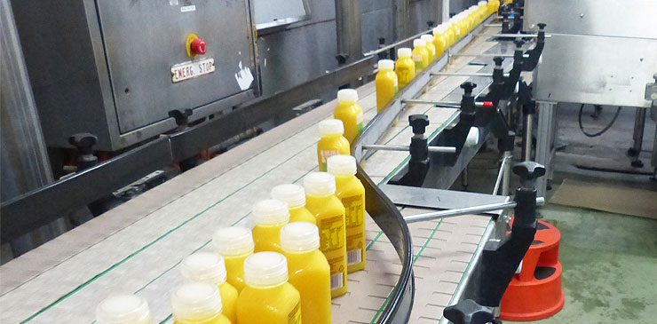 Slat Conveyors - single filer