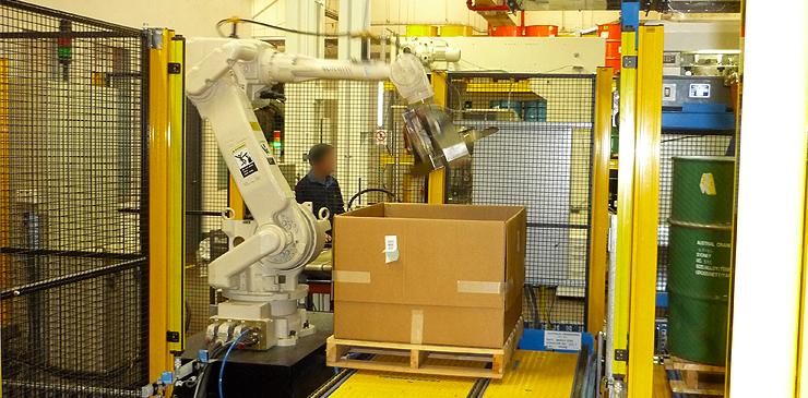 Packaging Robot - coin packaging
