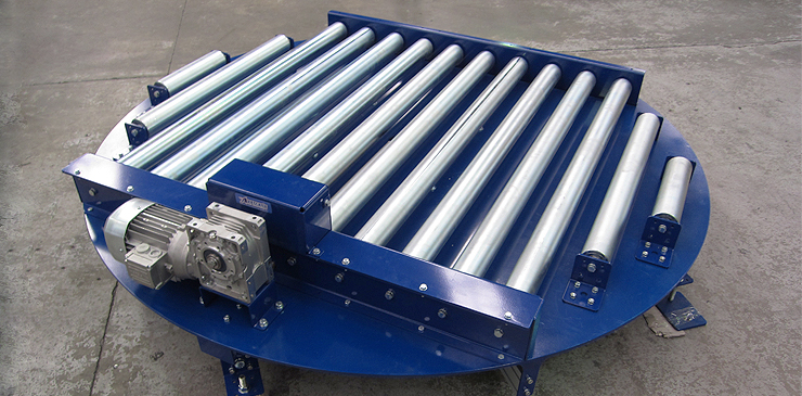 Pallet Turntables Roller Conveyor Chain Conveyor