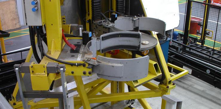 Special purpose drum handling equipment