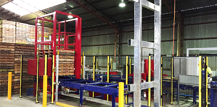 Turnkey Pallet Handling Solutions - OI