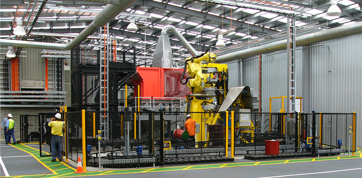 Turnkey Material Handling Solutions - Orica