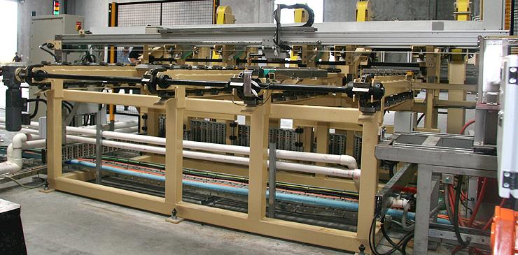 Special purpose equipment for steel bar handling