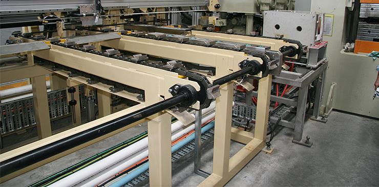 Customised steel bar handling equipment