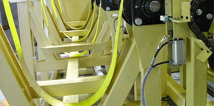 Fully customised, special purpose steel bar handling system
