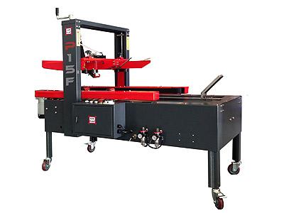 P15F Single Format Carton Taping machine with semiauto carton forming