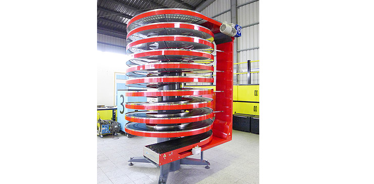 Spiral Conveyor_red