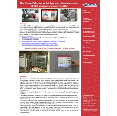 Case Studies Australis Engineering Conveyor Systems