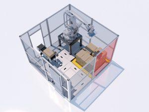 simPAL modular robotic palletiser